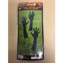 Halloween Ground Breaker Hands ~ 14.5""