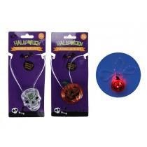 "Halloween LED Rope Light Flashing Pumpkin/Skull ~ 15.5"""