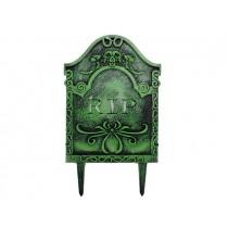 "Halloween Plastic RIP Tombstone ~ 15.5"" x 9""5"""