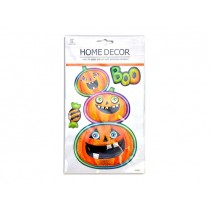 Halloween Pop-Up Laser Pumpkin Room Decor Sticker