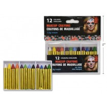 Halloween Make-Up Crayons ~ 12 colors per pack