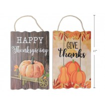 """Harvest MDF 2-Layer Hanging Sign ~ 8.75""""w x 11.75""""h"""