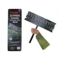 """Halloween Zombie Ground Breaker Sign ~ 16"""" x 18.5"""""""