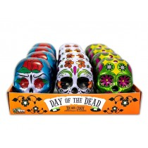 Halloween Day of the Dead Tins with Smarties