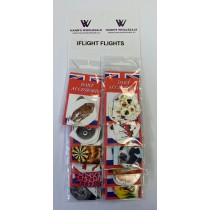 I-Flight Assorted Flights ~ 12 per card