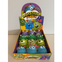 Monster Puffer Balls ~ 12 per display