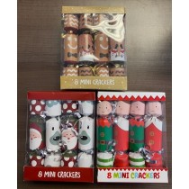"Christmas Crackers - 6"" ~ 8 per pack"