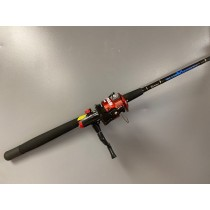Zebco Quantum Blue Runner Boat Rod Combo ~ MUST BE PURCHASED IN QUANTITIES OF 3 FOR SHIPPING PURPOSES.