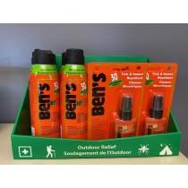 Ben's Insect Repellent - 30% Deet Wilderness Formula ~ 18 piece counter display