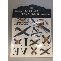 Nova Scotia Temporary Tattoos