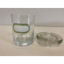 Air Tight Glass Storage Jars - 1/4oz ~ Assorted Patterns