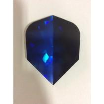Dartworld Broken Glass ~ Blue & Black