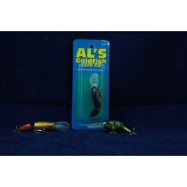 Al's Goldfish Wiggle Wog - 1/4oz ~ Yellow Perch