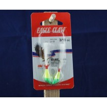 Eagle Claw Shad Darts - 3/16Oz ~ Chartreuse / Lime