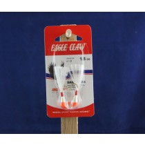 Eagle Claw Shad Darts - 1/8oz ~ Red / White