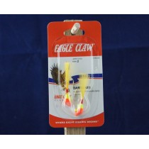 Eagle Claw Shad Darts - 1/16oz ~ Red / Yellow