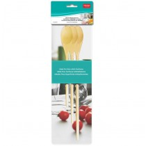 Wooden Mixing Spoons ~ set of 3