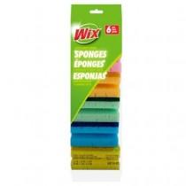 Wix Grip Scrub Sponges ~ 6 per pack