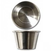 Stainless Steel Sauce Cups ~ 2oz