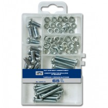 Nut & Bolt Assortment ~ 65 pieces