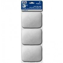"""Economy Paint Roller Refill for 3"""" Cage ~ 3 per pack"""
