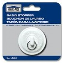"Basin Stopper ~ fits drains 1"" to 1-1/2"""