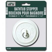 "Bathtub Stopper ~ fits drains 1-1/2"" to 2"""