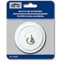 "Bathtub Stopper ~ fits drains 1-1/2"" to 2"""