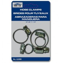 Hose Clamps ~ 3 per pack