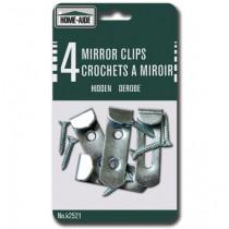 Hidden Mirror Clips ~ 4 per pack