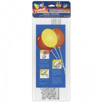 Balloon Sticks & Cups ~ 6 per pack