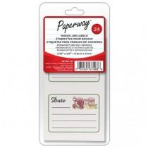 Labels for Mason Jars ~ 24 per pack