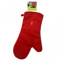 Kitchen Silicone Mitt ~ Red