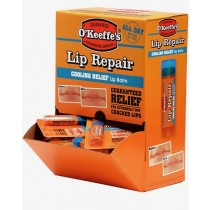 O'Keeffe's Lip Repair Cooling Relief Lip Balm - 4.2gr stick ~ 24 per gravity display