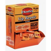 O'Keeffe's Lip Repair Unscented Lip Balm ~ 24 per gravity display