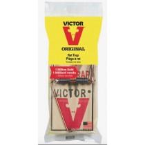 Victor Metal Pedal Wood Rat Trap ~ 1 per pack