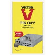 Victor Tin Cat Mice Trap ~ catches 30 mice