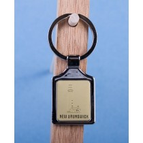 New Brunswick Lighthouse Keychain w/Gold Background