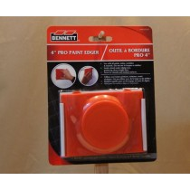 "Bennett 4"" Pro Paint Edger w/Spacer Wheels & Round Handle"
