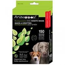 Animoos Bidodegradable Dog Waste Bags ~ 150/dispensing box