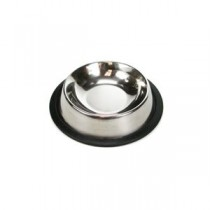 Stainless Steel Round Feeding Dish ~ 8oz