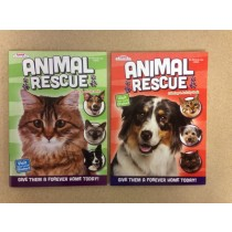 Animal Rescue Coloring & Activity Book