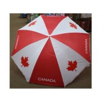 "Canada Beach Umbrella ~ 36"" x 8 ribs"