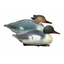Pro-Lite Common Mergansers Decoy ~ 6 hens & 6 drakes ~ 12/box