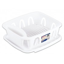 Sterilite Small Dish Drying Rack - White ~ 2 piece set