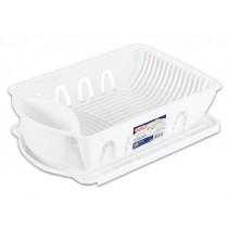 Sterilite Large Dish Drying Rack - White ~ 2 piece set