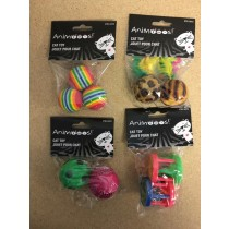 Cat Toys ~ 4 assorted