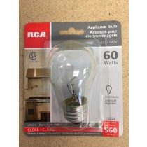 Appliance Bulb - 1 per pack ~ 60W