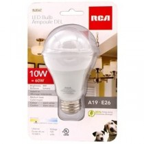 LED Lightbulb - Warm White - 1 per pack ~ 10W {=60W}