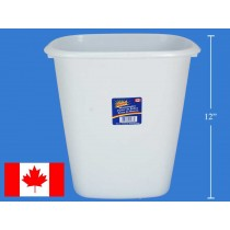 Royal Plastic Waste Basket ~ 12""
